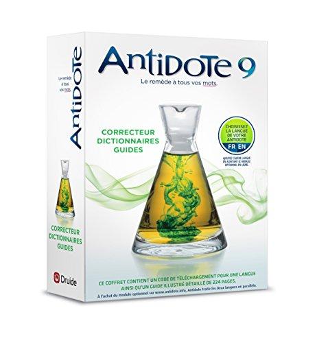 Antidote 9 : correcteur et dictionnaires pour le français ou l'anglais