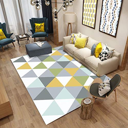 Area Carpet, Modern Scandinavian Style Carpet Schlafzimmer Bett Matte Yoga Teppich Crystal Blue Velvet Fabric Super weich geeignet für Kinder usw,4,80 * 120CM - Blue Area Teppich