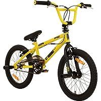 deTOX 18 Zoll BMX Juicy Rotor Pegs Freestyle Bike