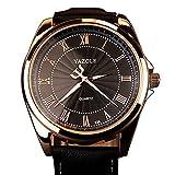 Top marca de lujo reloj de pulsera Hombres Famosos macho reloj cuarzo reloj Golden reloj de pulsera...