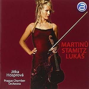 Martinu / Stamitz / Lukas: Violin Works