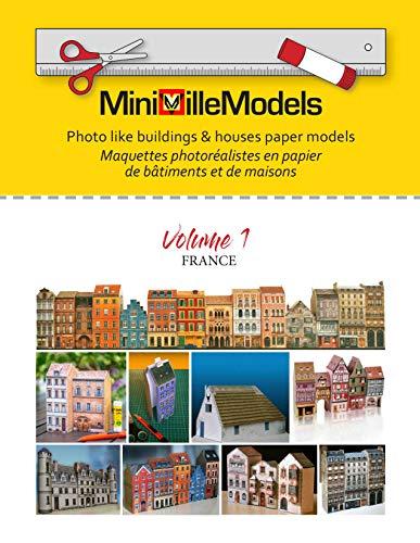 MiniVilleModels: Photo like buildings & houses paper models (Volume 1) (English Edition)
