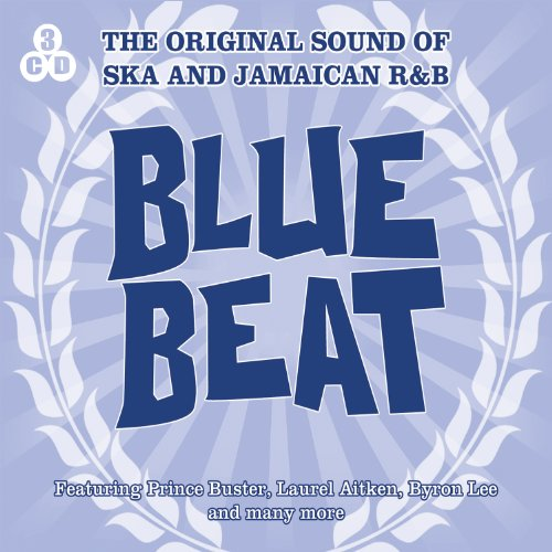 Blue Beat-the Original Sound of Ska and Jamaica England Blue Music Box
