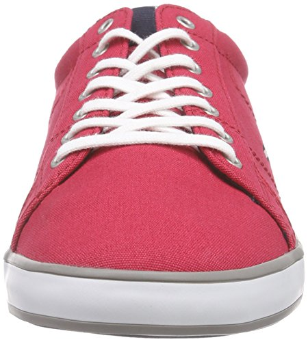 Tommy Hilfiger H2285ARLOW 1D, Sneakers basses homme Rouge (611)