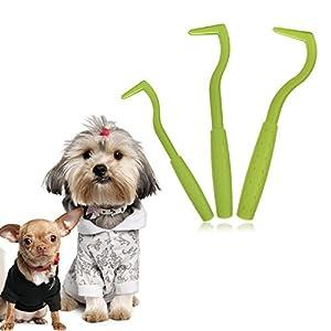 Set de 3Pince pour tiques Tire-tique Tire-tique | dnycf ticks Removal Toll brodé Remover pour chien chat Cheval l'Homme
