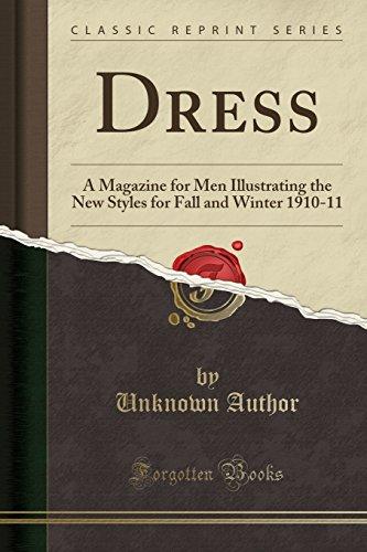 Dress: A Magazine for Men Illustrating the