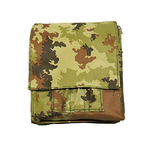 ALGI Borsino Porta Block Notes Militare Vegetato
