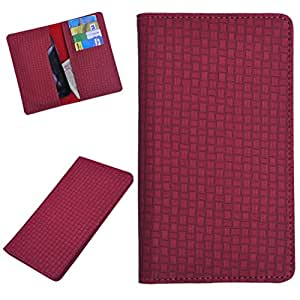 DCR Pu Leather case cover for Motorola Droid Turbo 2 (red)