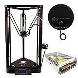 Anycubic Impresora 3D Kossel Delta Rostock Diy Kit Tamaño de Impresión Grande φ230x270mm (Plus Version)