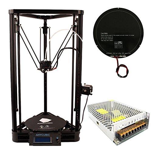 Anycubic Mise à Niveau Imprimante 3D Kossel Auto-assemblage DIY Kits Delta Rostock Cadeau Pas Cher