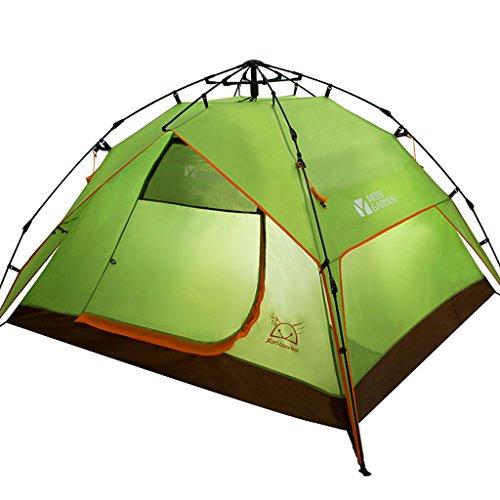 Outdoor Gear parcs et reprise Outdoor équipement de camping 3-4personnes Tente automatique Quart Windproof Camping
