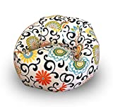#7: Aart Chitah Pattern Digitally Printed Canvas Bean Bag With Beans Filled XXXL