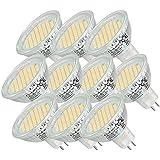 SMD SPOT MR16 GU5.3 8-24V AC/DC 54SMD LAMPE WARMWEISS ENERGIESPARLAMPE NEU --- 10 Stück ---