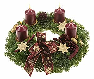 adventskranz lichterzauber 30 cm im duchmesser mit. Black Bedroom Furniture Sets. Home Design Ideas