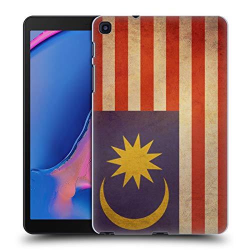 Head Case Designs Malaya Malaiisch Vintage Fahnen 5 Harte Rueckseiten Huelle kompatibel mit Samsung Galaxy Tab A 8 (2019) Malaya Cover