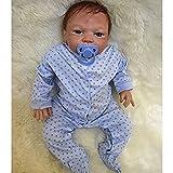 NPK 52 cm Morbido Silicone Bambola Reborn Bambino 20inch Magnetica Bocca Bella Realistica Ragazzo Sveglio Cuore Ragazza Giocattolo Baby Doll Bambino Africano