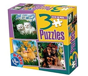 D-Toys - Rompecabezas, 16 Piezas (DT63045-AP-01)