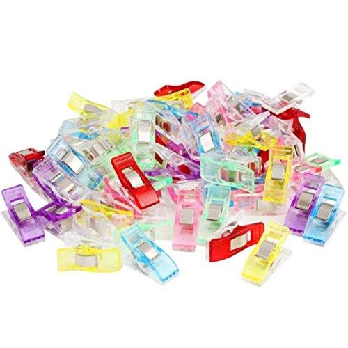 Sensail Pinces de Couture, Clips Pinces en Plastique pour couture Accessoires (20pcs)