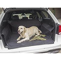 Universelle Kofferraum Schutz-matte | MY TRUNK COVER TO GO | schmutzabweisend |mit Seitenschutz und Ladekantenschutz | die Kofferraum-Decke schützt Ihr Auto vor Kratzer, Hund-haare, Flüssigkeit
