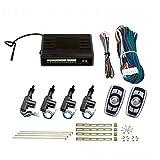 Zentralverriegelung, Komplett Set, 4-türig, incl. 2 Handsender mit Funk, 4 Stellmotoren