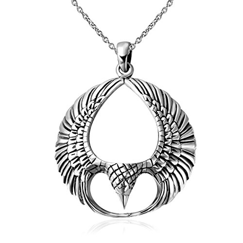 925-sterling-silver-oxidized-spread-open-phoenix-wings-pendant-necklace-18