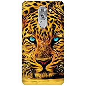 Honor 6X Silicon Back Cover - Multicolor Designer Cases Cover By Printland