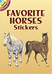 Favorite Horses Stickers (Dover Little Activity Books Stickers) by John Green (2005-03-21)
