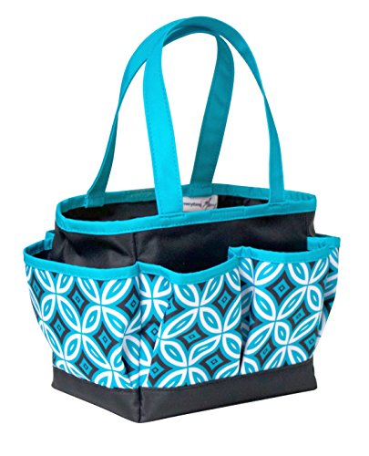 everything-mary-evm9653-2-black-teal-crafters-mini-tote-20oex25oex15ycm