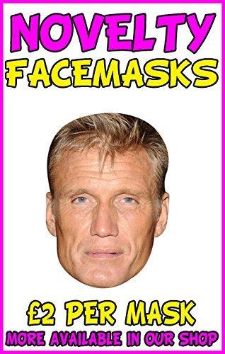 Dolph Lundgren Ivan Drago Novelty Celebrity Face Mask Party Mask Stag Mask