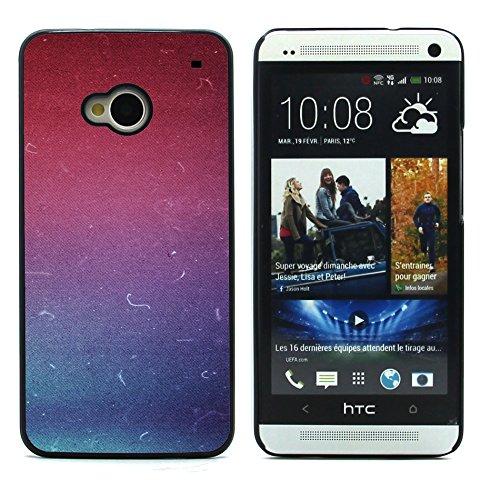 Graphic4You GOLD BRUSH TEXTURES Muster Harte Hülle Case Tasche Schutzhülle für HTC One (M7) Design #14
