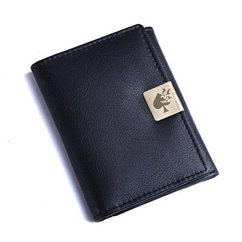 Jade Spade Valkyrie Black Men's Wallet