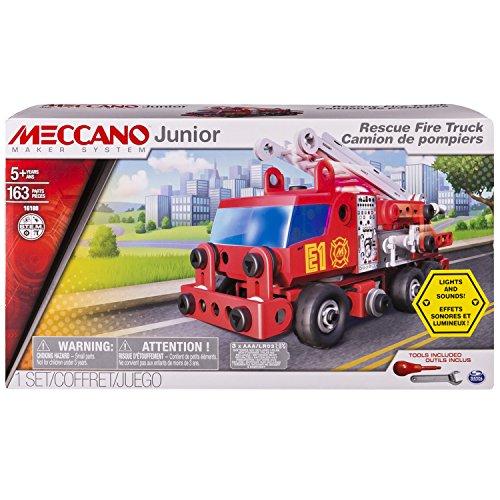 Meccano 6028420 - Set Costruzioni Junior Camion Pompieri
