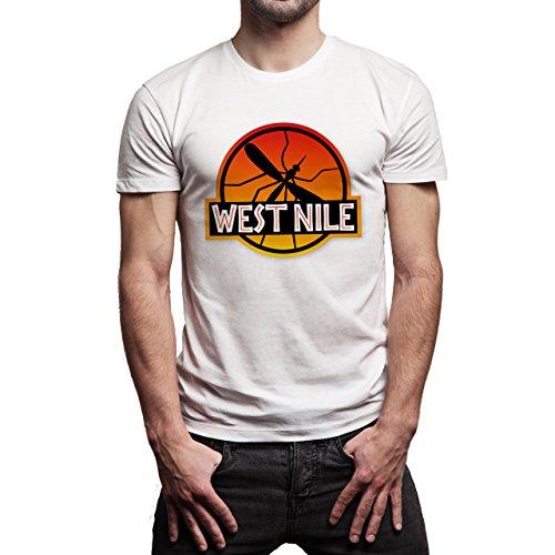 Jurassic-Park-West-Nile-Logo-Layer-0.jpg Herren T-Shirt Weiß