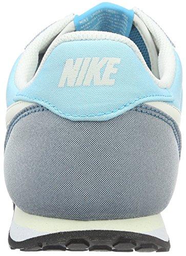 Nike Wmns Genicco Canvas, Entraînement de course femme Bleu (Gamma Blue/Phantom/Green Abyss)