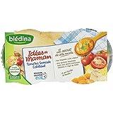Blédina Idées de Maman Tomates Semoule Cabillaud dès 8 Mois 400 g
