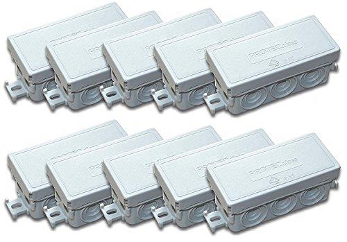 Verbindungsdose Abzweigdose 89 x 43 x 37 mm IP55 Feuchtraum (20 Stück FR-Abzweigdose)