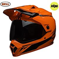 Bell Cascos MX-9 Adventure MIPS, linterna, color naranja/negro, talla