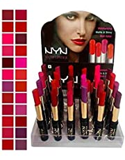 Spanking Matte Waterproof Lipsticks - Pack of 24