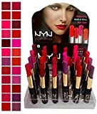 #9: NYN Matte Waterproof Lipstick set of 24 Colour