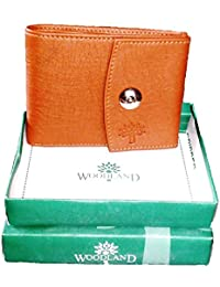 Woodland Brown And Tan Men's Wallet …