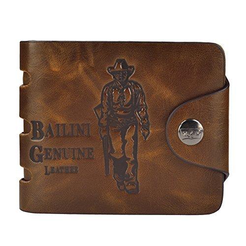 Hipster Herren Hoch Qualität Freizeit Magnetisch Dot Geschlossen Klassische Bifold Brieftasche (Brieftasche Klassische Hipster)
