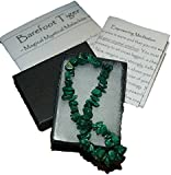 Rare Malachite Crystal Healing Bracelet with Gift Box and Instructions