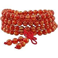 Shanxing 108 Perlen Edelstein Yoga Armband Schmuck Buddha Buddhistische Tibetische Gebetskette Mala Kette Halskette preisvergleich bei billige-tabletten.eu