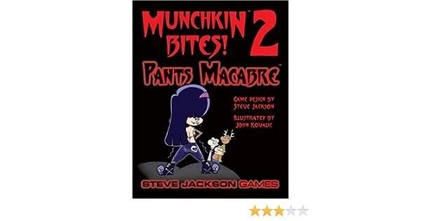 Munchkin Bites 2 Pants Macabre Card Game Expansion New
