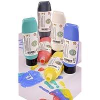 Scola 6 x 300ml Finger Paints