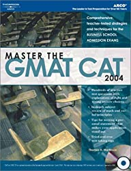 Master the GMAT CAT, 2004/e w/CD-ROM