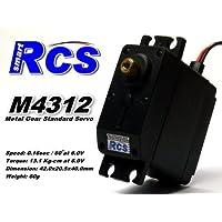 Price comparsion for 2x RCS Model M4312 RC Metal Gear High Torque R/C Hobby Standard Servo CA134