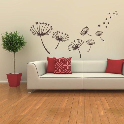 STICASA: Flowers - Wall stickers – Wallstickers wandtattoo schlafzimmer aufkleber