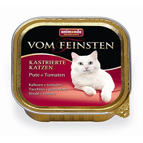 Animonda   Vom Feinsten Kastrierte Katzen Pute & Tomaten   32 x 100 g