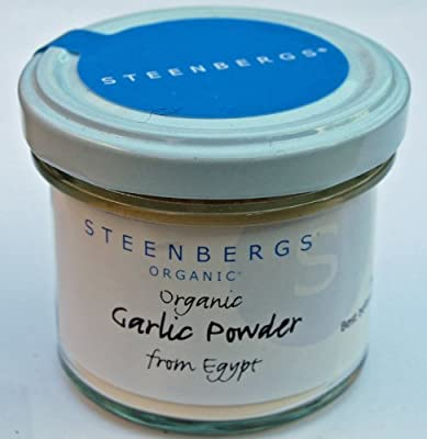 Organic Garlic Powder Standard Jar - 55g from Steenbergs